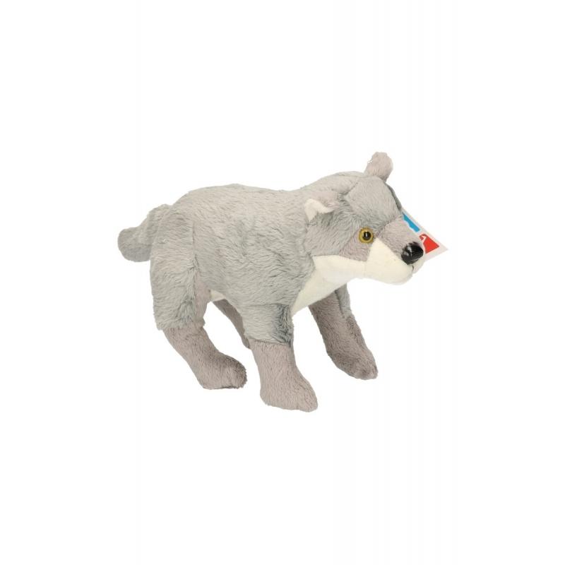 Wolven/wolf knuffel 25 cm