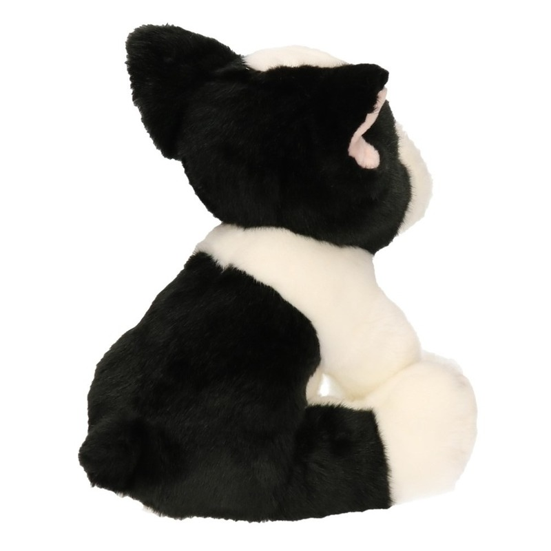 Zittende knuffel Franse bulldog 24 cm