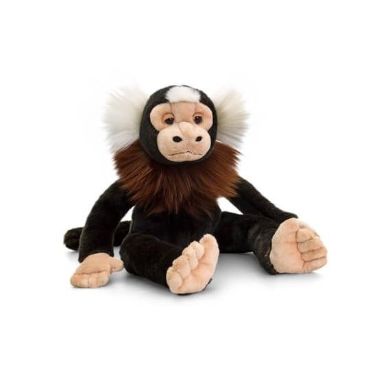 Zittende marmoset aap knuffeldier 30cm